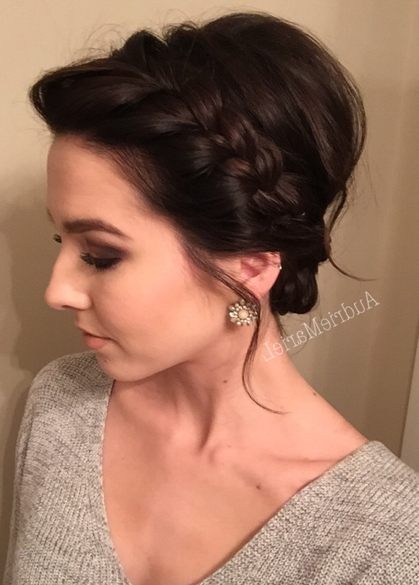 25 Stunning Prom Hairstyles For Short Hair | Updo, Short Hair And Shorts Throughout Most Recent Bridesmaid Hairstyles Updos For Short Hair (View 4 of 15)