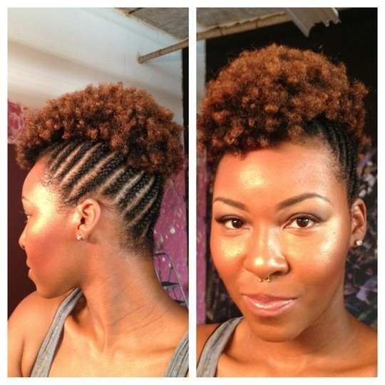 25 Updo Hairstyles For Black Women For Most Up To Date African Hair Updo Hairstyles (View 5 of 15)