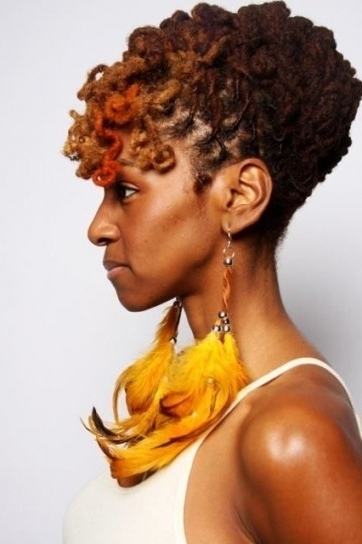25 Updo Styles For Locs – Tgin Regarding Wonderful Updo Dreadlock Intended For Latest Dreadlock Updo Hairstyles (View 15 of 15)