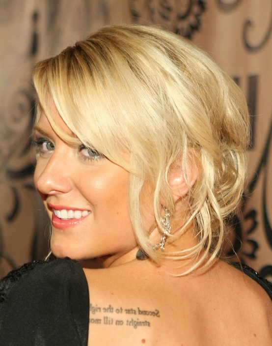 3 Classic Updos For Thin Hair – Pretty Designs With Regard To Most Recently Updos For Thin Hair (View 12 of 15)