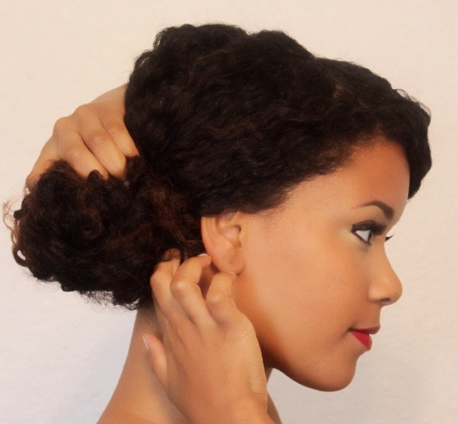 3 Up Dos To Try From A Twist Out   The Layer – Loxa Beauty® Regarding Recent Updo Twist Out Hairstyles (View 3 of 15)