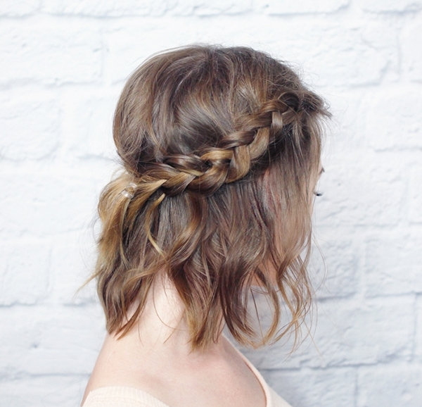 30 Best Prom Hairstyles For Short Hair   More Regarding Latest Prom Updos For Short Hair (View 8 of 15)