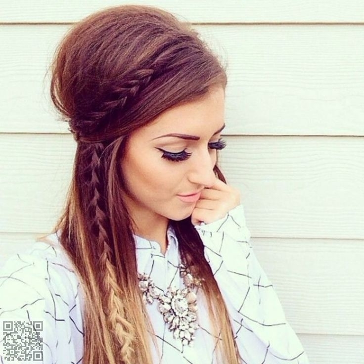 30 Boho Chic Hairstyles For 2016 | Chic Hairstyles, Boho And Hair Style Intended For Best And Newest Chic Updos For Long Hair (View 15 of 15)