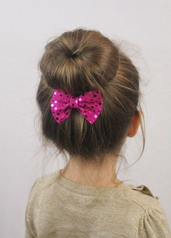 30 Cute And Easy Little Girl Hairstyles Ideas For Your Girl! Inside Best And Newest Easy Updo Hairstyles For Kids (View 5 of 15)