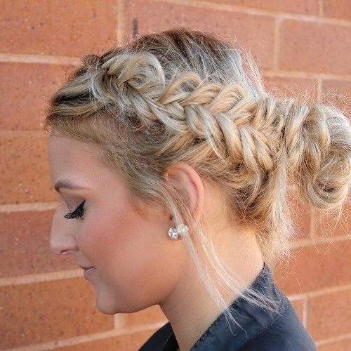 30 Easy And Stylish Casual Updos For Long Hair | Fishtail And Updos Within Most Recent Easy Casual Updos For Long Hair (View 2 of 15)