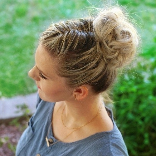 30 Easy And Stylish Casual Updos For Long Hair | Updos, Casual Bun Throughout Newest Casual Updo Hairstyles For Long Hair (View 13 of 15)
