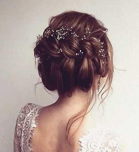 30+ New Braided Updo Hairstyles | Hairstyles & Haircuts 2016 – 2017 Regarding Most Popular Updo Hairstyles For Wedding (View 15 of 15)