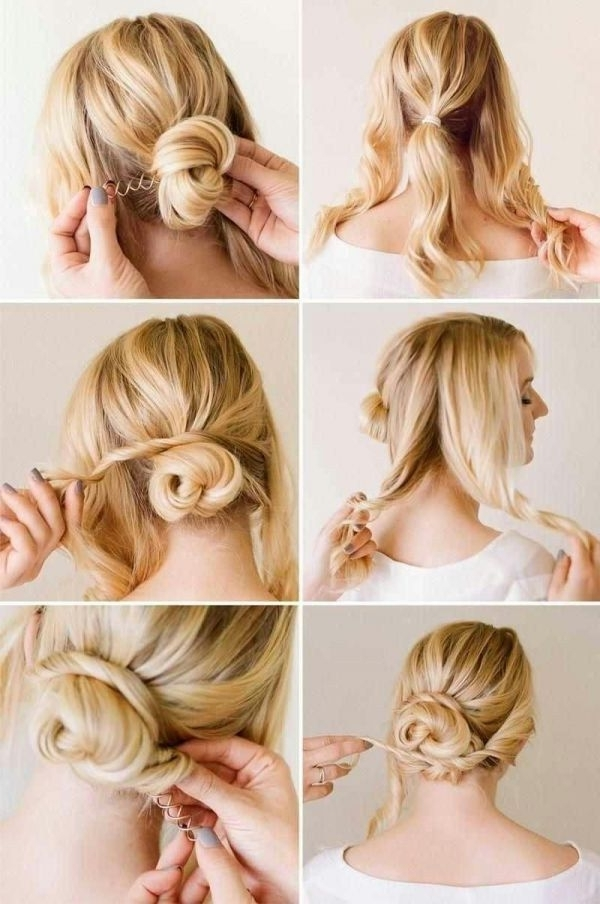 305 Best Hair & Giggles Images On Pinterest | Pixie Cuts, Pixie Within Most Up To Date Easy Updos For Medium Thin Hair (View 4 of 15)