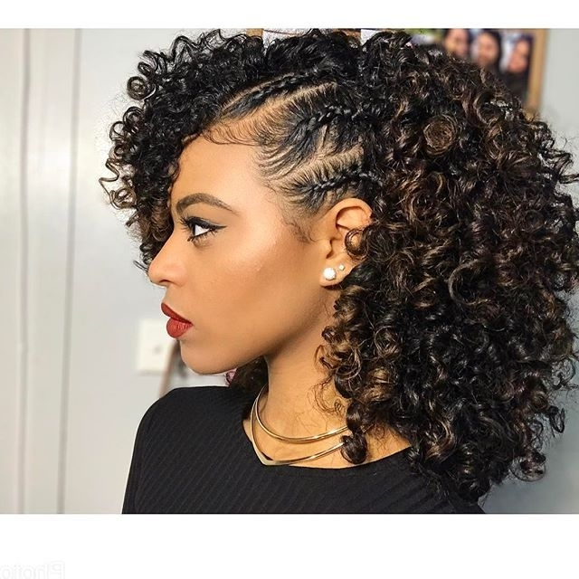 308 Best Beautiful Hairstyles Images On Pinterest | Protective Regarding Most Recent Black Curly Hair Updo Hairstyles (View 9 of 15)