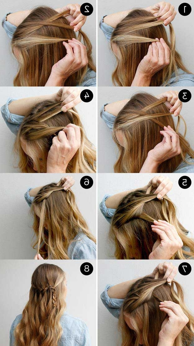 31 Amazing Half Up Half Down Hairstyles For Long Hair – The Goddess Throughout Most Popular Easy Half Updo Hairstyles (View 2 of 15)