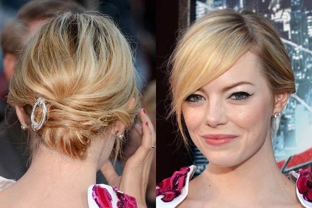 31 Brand New Party Hairstyles To Try | Allure With Best And Newest Updo Hairstyles For Black Tie Event (View 5 of 15)