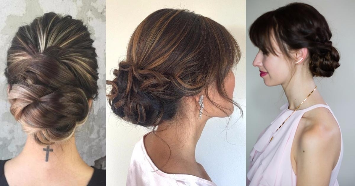 31 Quick And Easy Updo Hairstyles – The Goddess Within 2018 Quick Easy Updo Hairstyles (View 4 of 15)