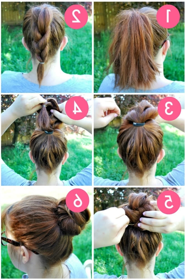 32 Chic 5 Minute Hairstyles Tutorials You May Love | Styles Weekly With Regard To Most Recent Updo Hairstyles For School (View 7 of 15)