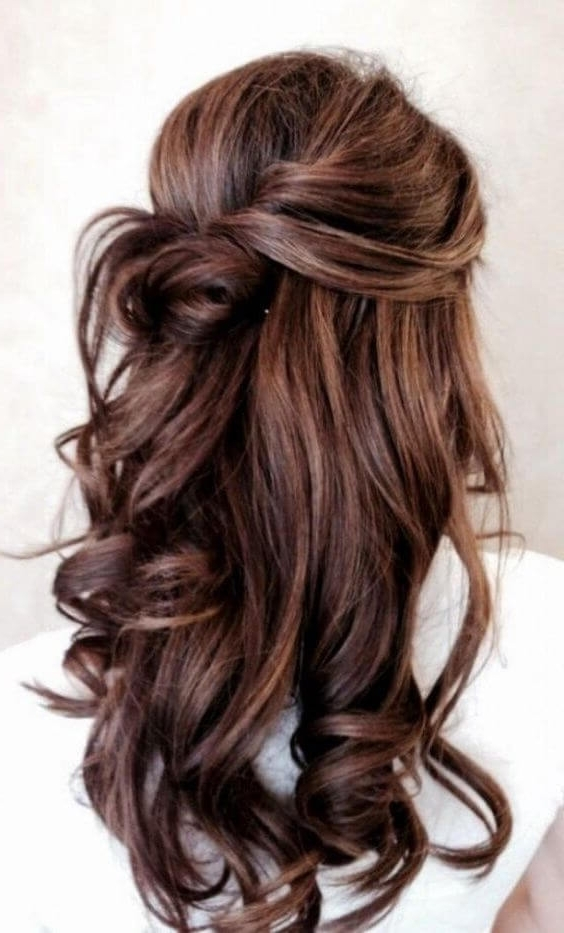 32 Half Up Half Down Updos For Any Special Occasion Intended For Recent Updo Half Up Half Down Hairstyles (View 12 of 15)
