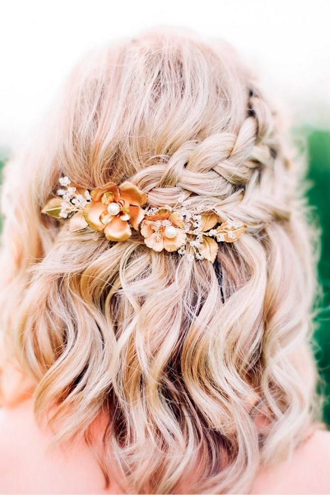 33 Amazing Prom Hairstyles For Short Hair 2018   Prom Hairstyles With Regard To Current Prom Updos For Short Hair (View 8 of 15)