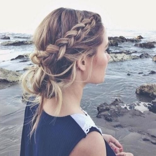 34 Boho Hairstyles Ideas | Updos, Boho And Simple Updo Inside Most Up To Date Boho Updos For Long Hair (View 3 of 15)