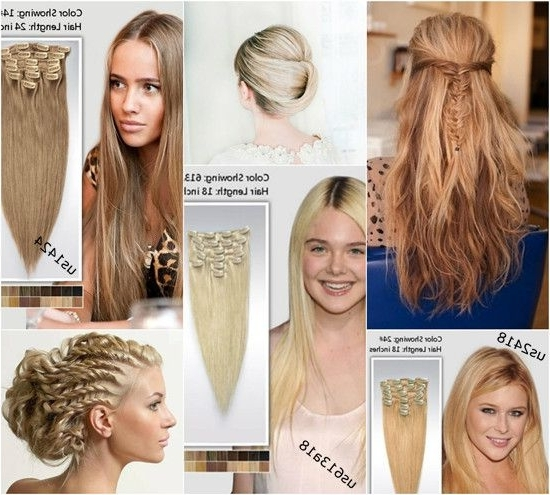 340 Best Ludis Charming Instinct Images On Pinterest | Long Hair Within Current Hair Extensions Updo Hairstyles (View 3 of 15)