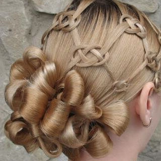 35 Mind Bogglingly Complicated Braids That Are A Feat Of Human Throughout Best And Newest Knot Updo Hairstyles (View 10 of 15)