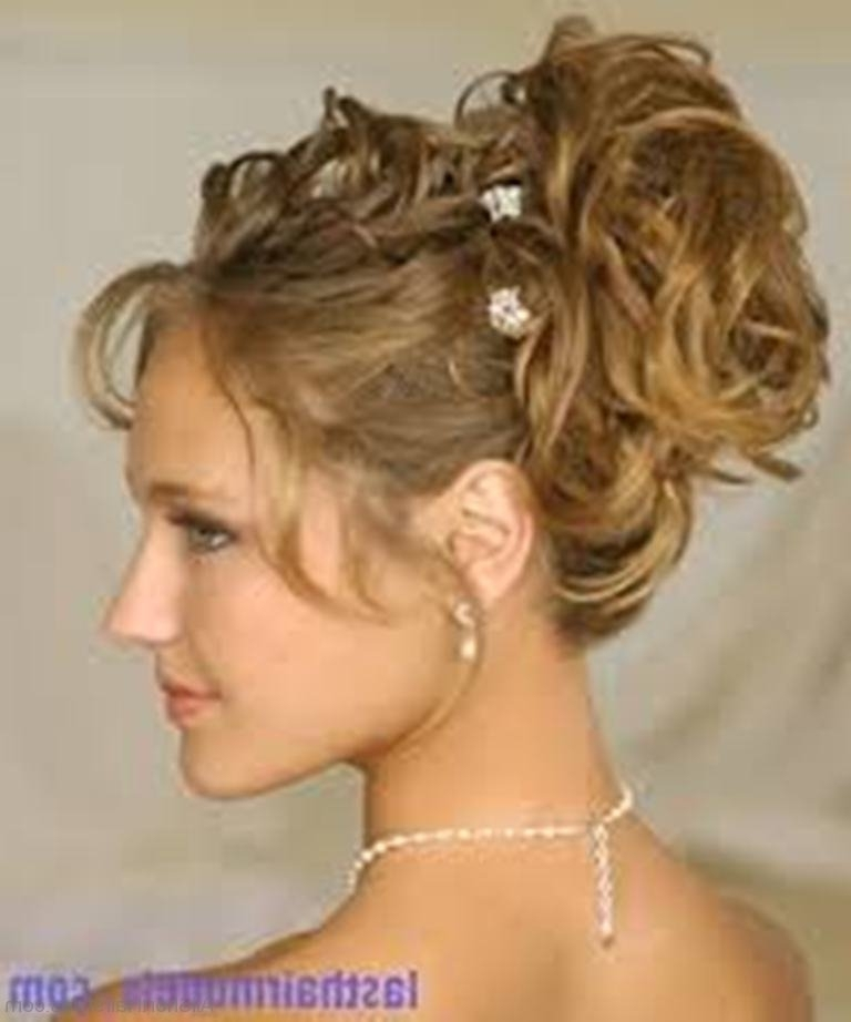 2018 Popular Pretty Updo Hairstyles For Long Hair