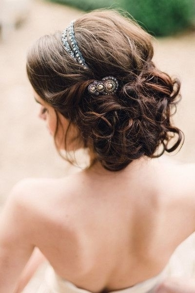 35 Wedding Hairstyles: Discover Next Year's Top Trends For Brides For Most Up To Date Bride Updo Hairstyles (View 10 of 15)