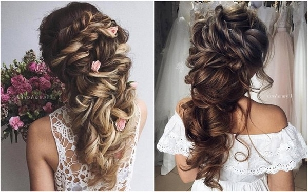 35 Wedding Updo Hairstyles For Long Hair From Ulyana Aster | Deer Pertaining To Current Updos For Brides With Long Hair (View 5 of 15)