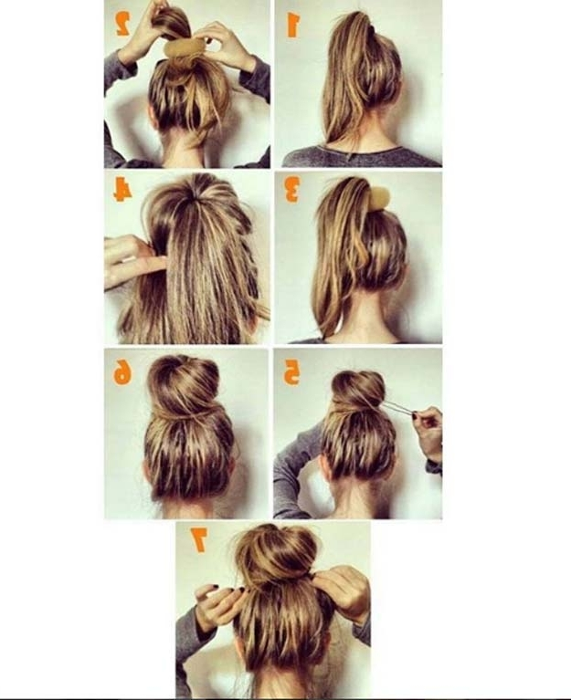 Photo Gallery of Long Hair Updo Hairstyles For Work (Showing 14 of ...