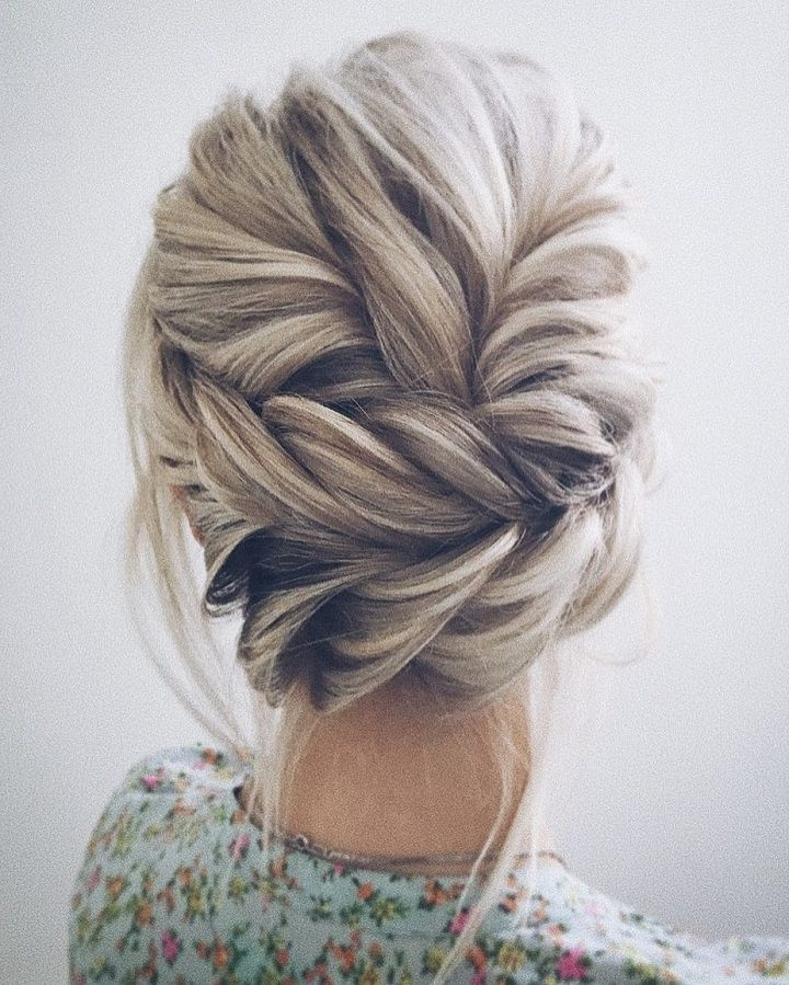 38 Bridesmaid Hairstyles(Updos, Half Up Half Down, Curls) For For Most Recently Bridesmaid Updo Hairstyles (View 12 of 15)
