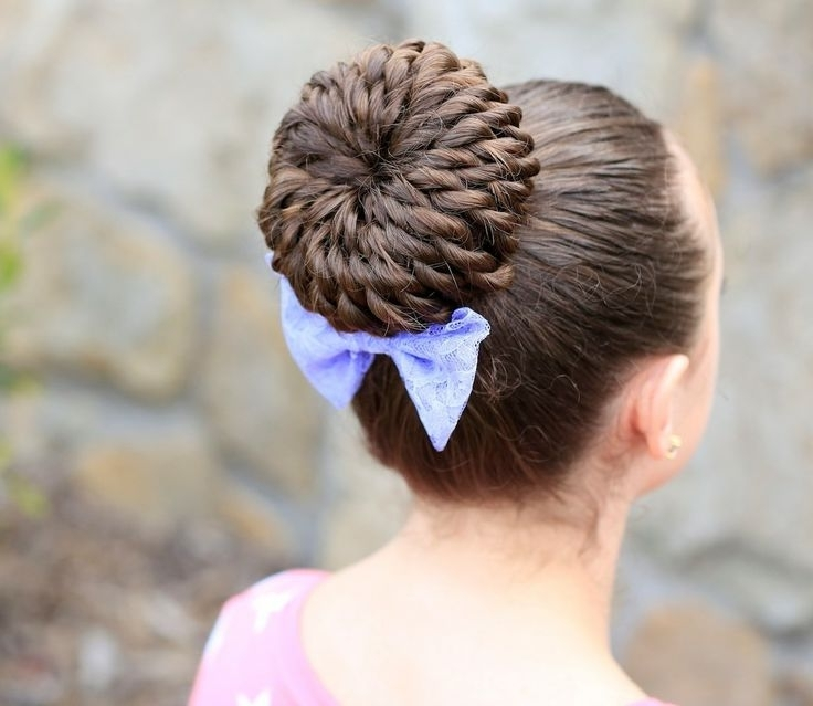 38 Super Cute Little Girl Hairstyles For Wedding | Deer Pearl Flowers Pertaining To Latest Cute Girls Updo Hairstyles (View 10 of 15)