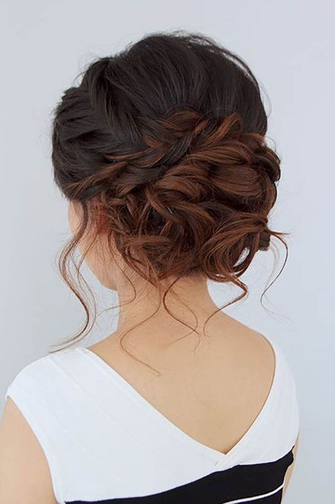 39 Enchanting Wedding Updos | Updos, Wedding And Collection Regarding 2018 Updo Hairstyles For Wedding (View 6 of 15)