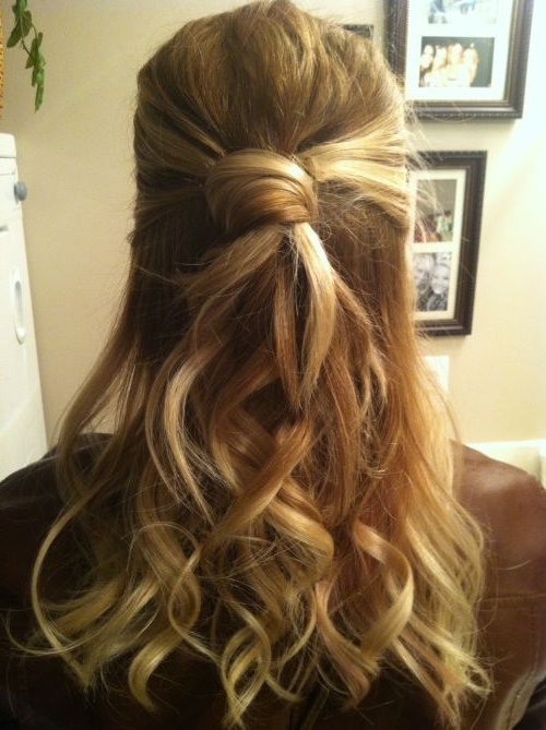 39 Half Up Half Down Hairstyles To Make You Look Perfect Intended For Latest Half Updo Hairstyles For Medium Hair (View 10 of 15)