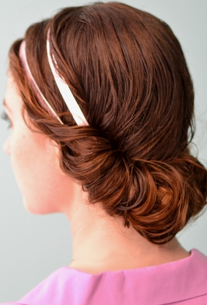 Featured Photo of Wet Hair Updo Hairstyles