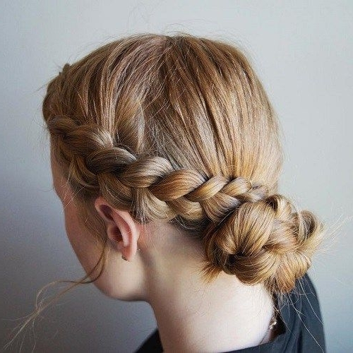 40 Cute And Cool Hairstyles For Teenage Girls | Casual Updo, Updo With Regard To Most Recently Teenage Updo Hairstyles (View 4 of 15)