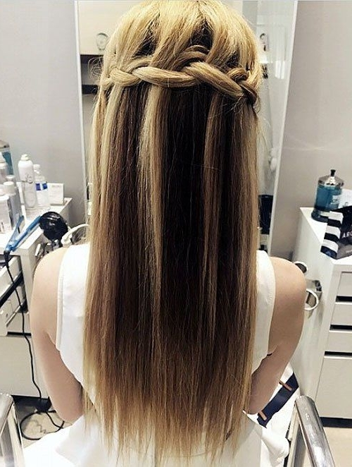 40 Long Hairstyles And Haircuts For Fine Hair | Fine Hair, Long For 2018 Updo Hairstyles For Long Fine Straight Hair (View 4 of 15)