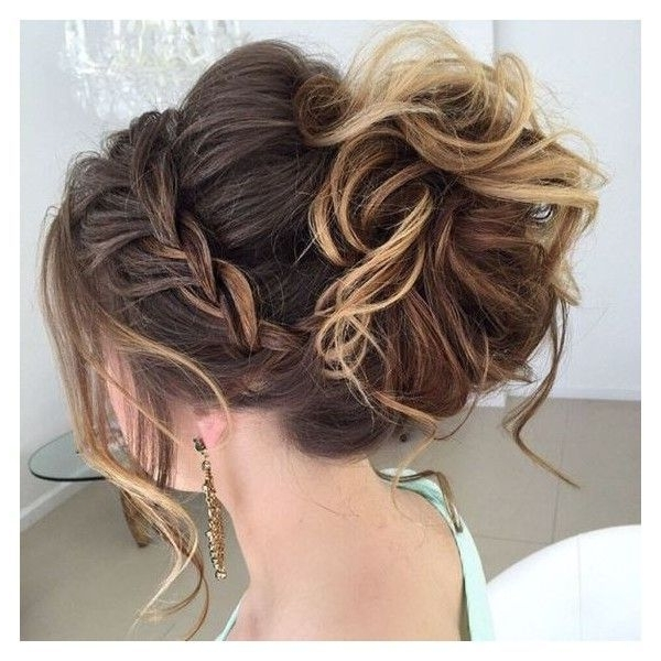 40 Most Delightful Prom Updos For Long Hair In 2016 Liked On Inside Most Recently Long Hair Updo Accessories (View 15 of 15)
