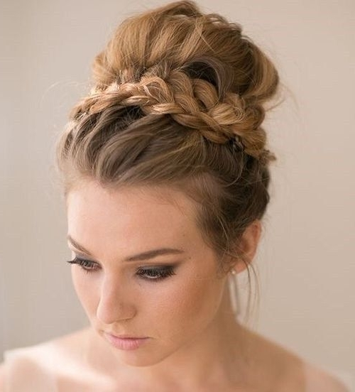 40 Most Delightful Prom Updos For Long Hair In 2018 | Prom Intended For Most Up To Date Prom Updo Hairstyles For Medium Hair (View 6 of 15)