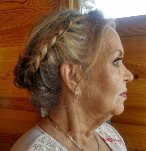 40 Stylish Long Hairstyles For Older Women | Updo, Hair Style And Regarding Newest Updo Hairstyles For Older Women (View 3 of 15)