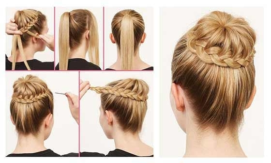 40 Top Hairstyles For Women With Thick Hair For Newest Updo Hairstyles For Long Thick Hair (View 8 of 15)