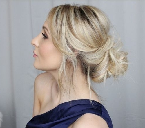 40 Updos For Long Hair – Easy And Cute Updos For 2018 Pertaining To Most Current Dressy Updo Hairstyles (View 2 of 15)