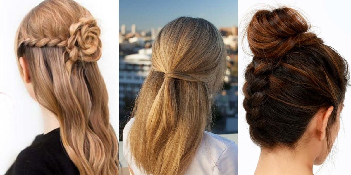 41 Diy Cool Easy Hairstyles That Real People Can Actually Do At Home! In 2018 Easy At Home Updos For Long Hair (View 3 of 15)