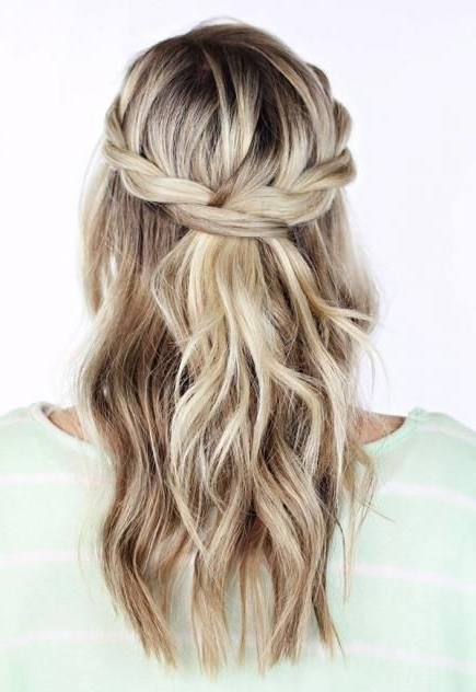 418 Best Beauty~Hair Up Do's & Styling Images On Pinterest | Baby In Most Popular Wavy Hair Updo Hairstyles (View 13 of 15)