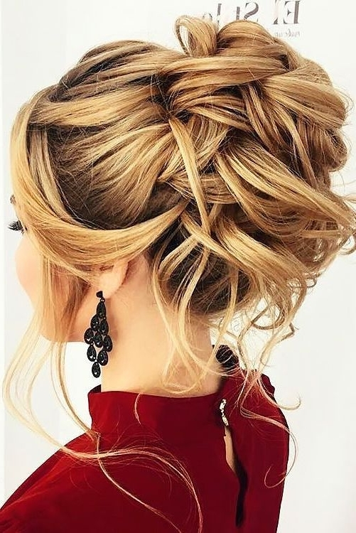 42 Boho Inspired Unique And Creative Wedding Hairstyles | Unique With Most Current Long Formal Updo Hairstyles (View 5 of 15)