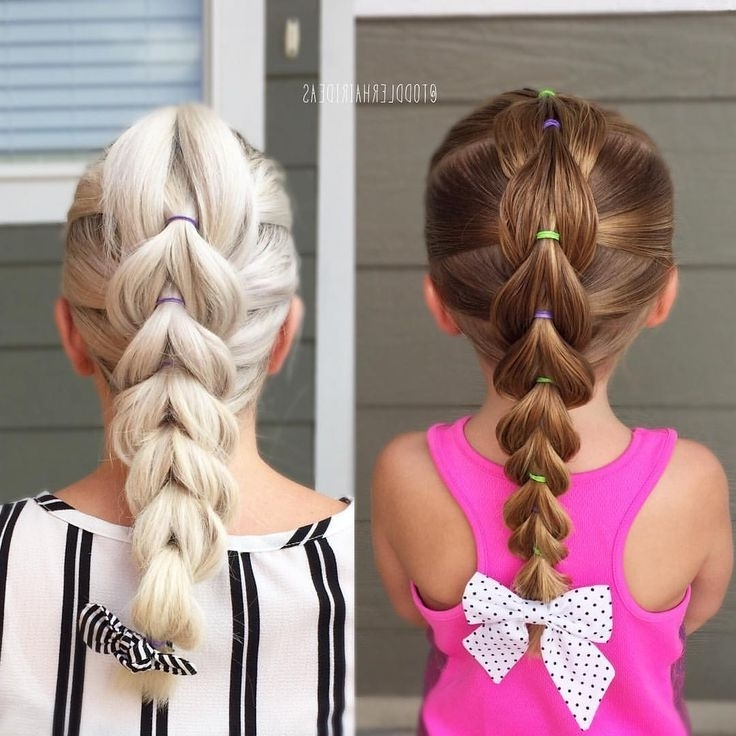 Featured Photo of Easy Updo Hairstyles For Kids