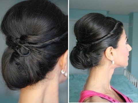 46 Best Hair & Makeup Images On Pinterest | Hair Ideas, Asian With Most Recently Chic Updos For Long Hair (View 5 of 15)