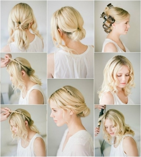 46 Best Ideas For Hairstyles For Thin Hair Throughout Cool Wedding For 2018 Bridesmaid Updo Hairstyles For Thin Hair (View 11 of 15)