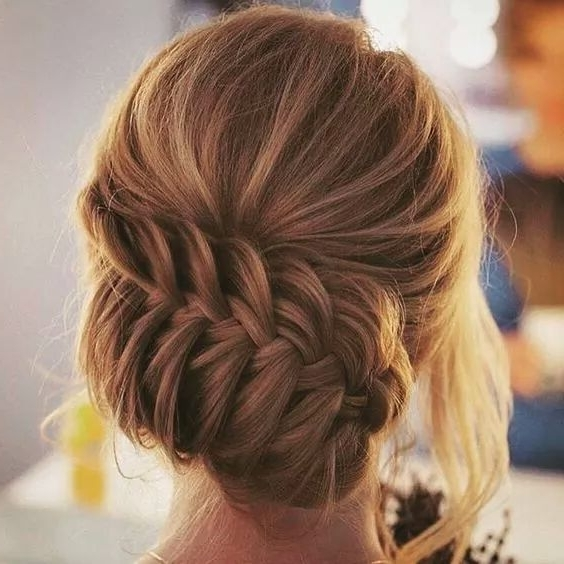 46 Best Ideas For Hairstyles For Thin Hair Within Newest Updo Hairstyles For Thin Hair (View 4 of 15)