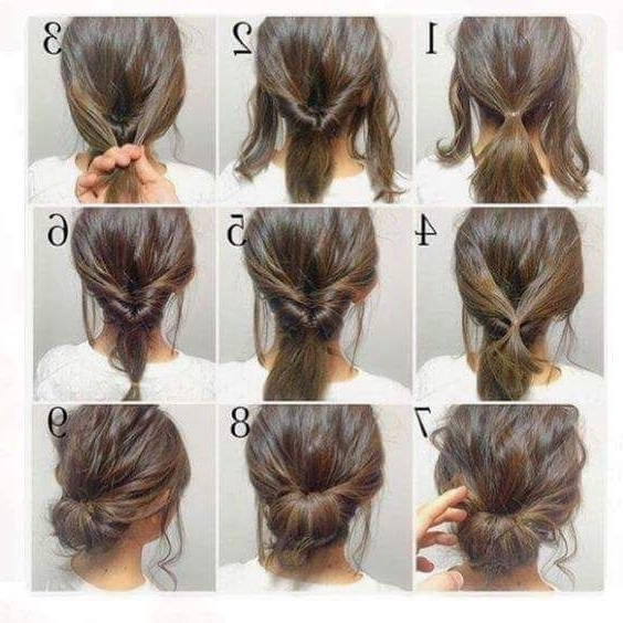 47 Messy Updo Hairstyles That You Can Wear Anytime, Anywhere | Messy Pertaining To Recent Easy Updo Hairstyles For Thin Hair (View 4 of 15)