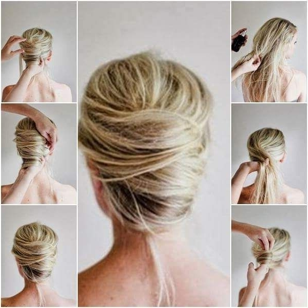 47 Messy Updo Hairstyles That You Can Wear Anytime, Anywhere | Thin Inside Latest Messy Updo Hairstyles For Thin Hair (View 14 of 15)