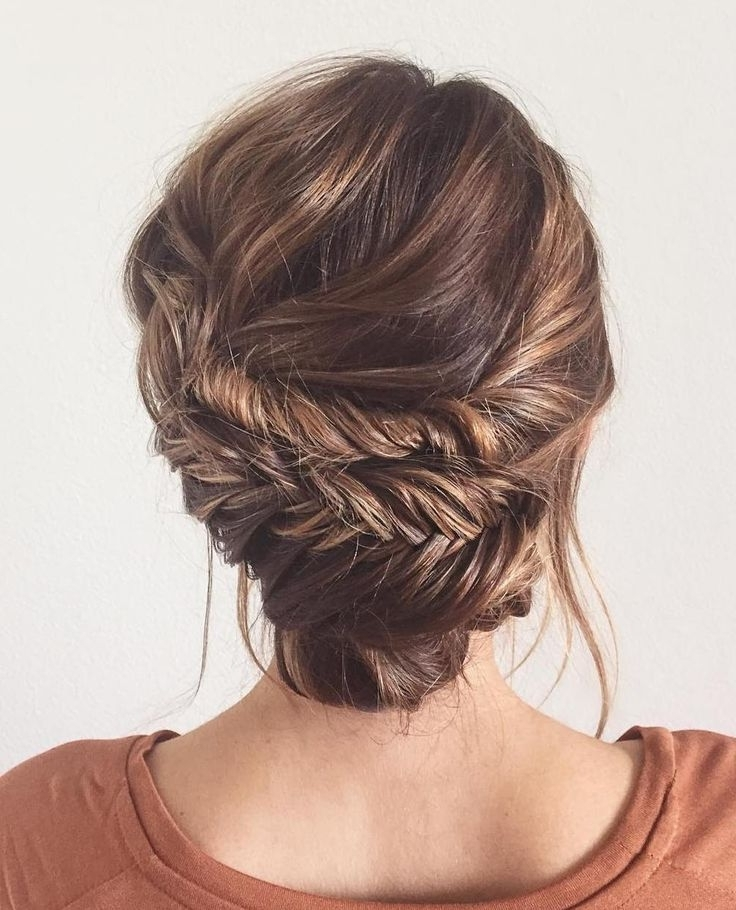48 Best Bridesmaid Hair Images On Pinterest | Bridal Hairstyles With Latest Messy Updo Hairstyles For Thin Hair (View 8 of 15)