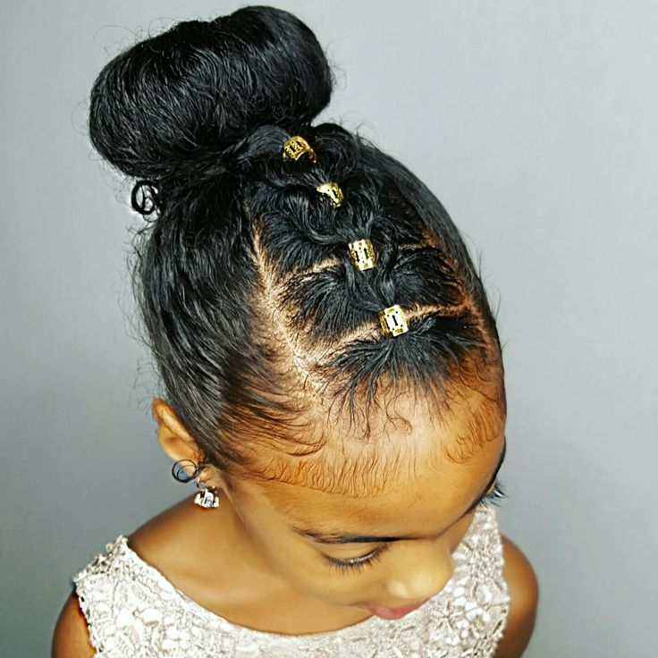 48 Best Janelle's Hairstyles Curly Kids Hair Images On Pinterest For Recent Children's Updo Hairstyles (View 5 of 15)