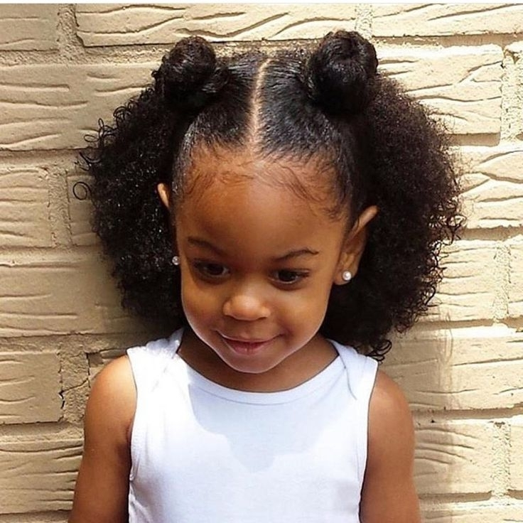 49 Best Natural Hair Kids Images On Pinterest | Natural Hair Within Most Recently Children's Updo Hairstyles (View 4 of 15)